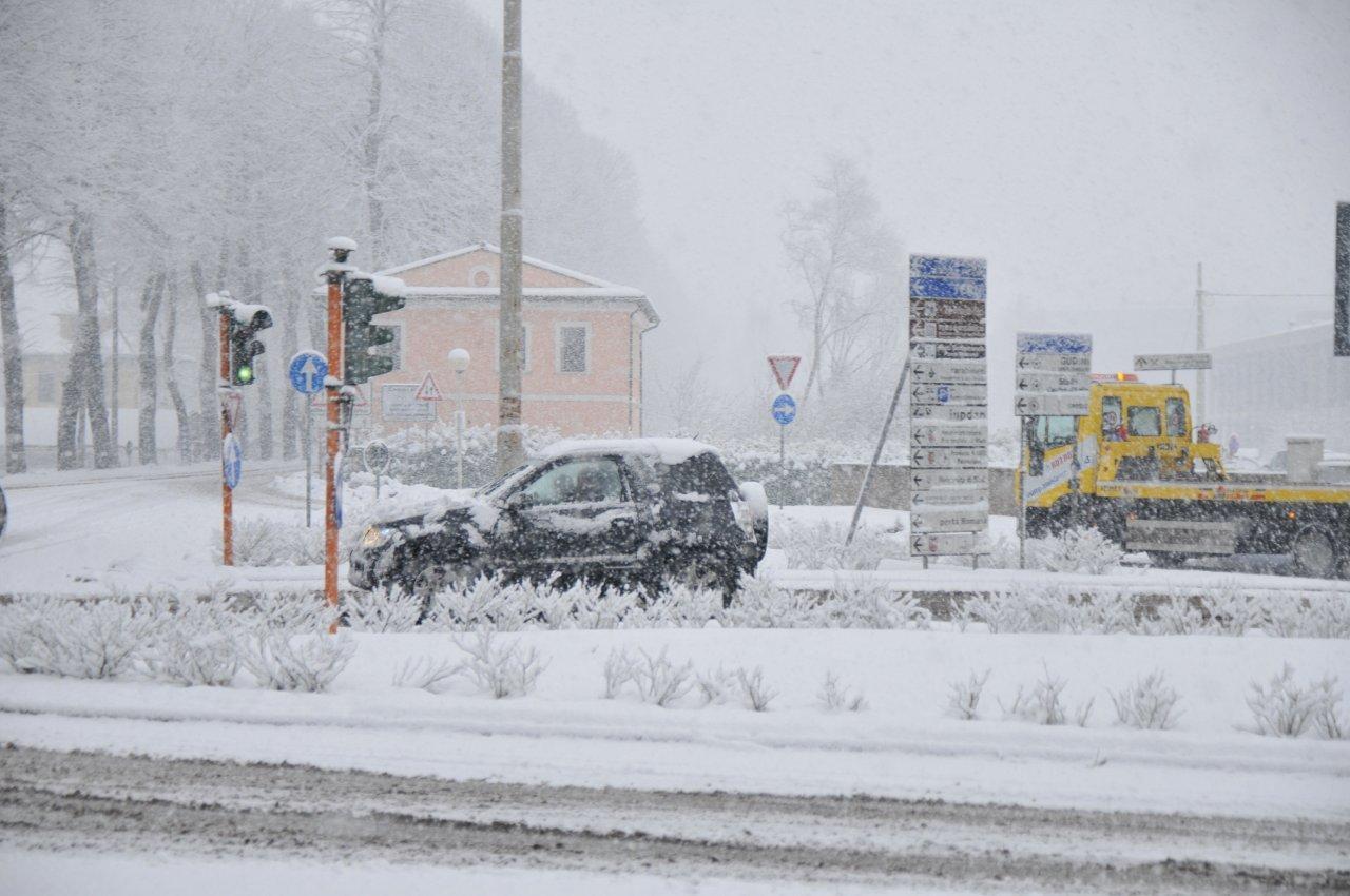 Nuova nevicata su Rieti e provincia