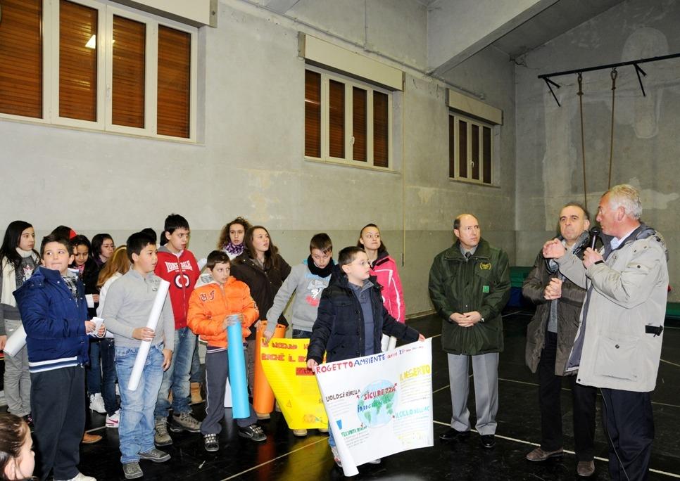Le Sentinelle Verdi incontrano gli studenti di Borgorose