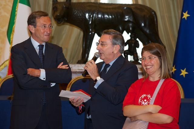 Tre reatini nella delegazione Special Olympics in visita alla Camera