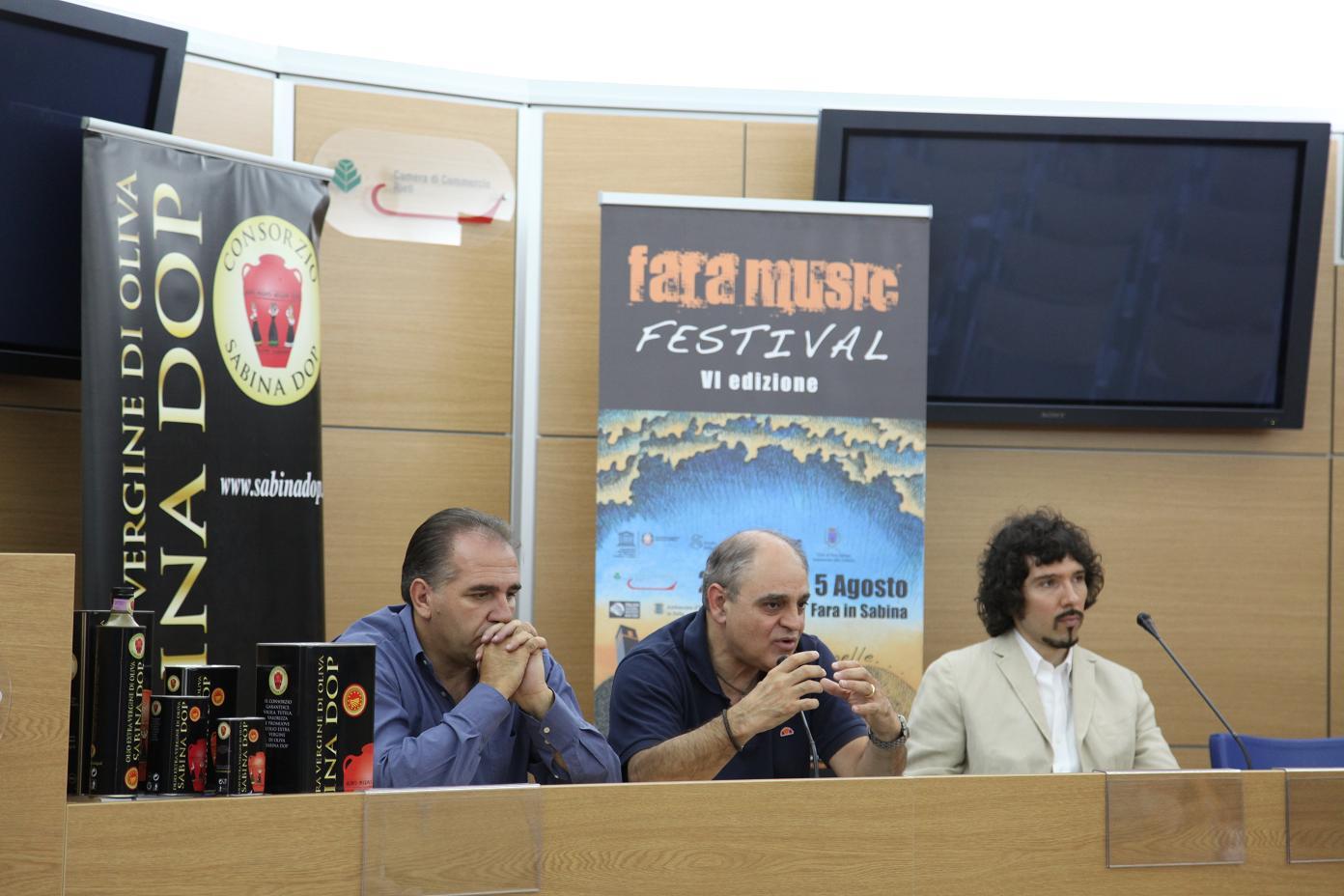 Presentato il progetto di promozione dei prodotti reatini al Fara Music Festival