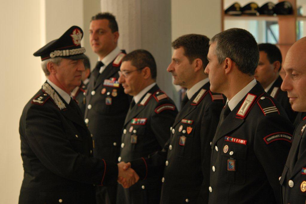 Carabinieri, Gen. Ciceri a Rieti