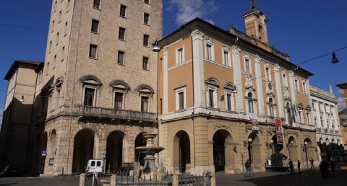 UFFICIO AFFISSIONI COMUNE RIETI AL QUARTO PIANO DI PALAZZO DI CITTA'