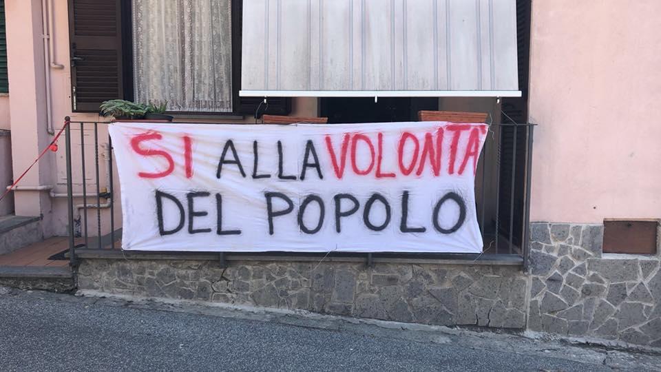 """CORO DI """"NO"""" ALLA CENTRALE A BIOMETANO DI PONZANO – LE FOTO"""