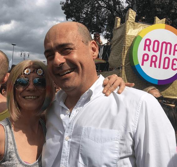 GAY PRIDE: ZINGARETTI, SOCIETÀ FONDATA SU RISPETTO E DIFFERENZE È PIÙ FORTE