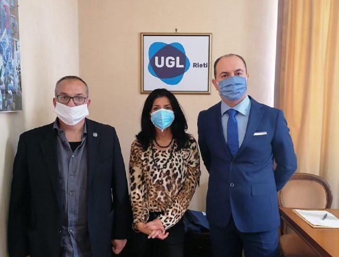 Zetti e Mancini del Nuovo Sindacato Carabinieri in visita alla UGL di Rieti