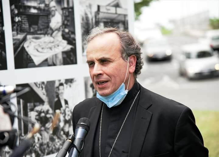 Il primo maggio a Regina Pacis Messa presieduta dal vescovo Domenico