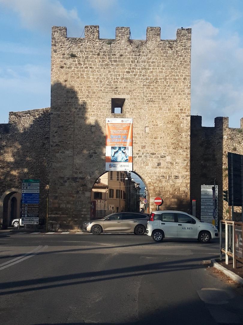 RIETI E IL LAZIO RESTANO IN ZONA GIALLA, MANTENERE ALTA LA GUARDIA