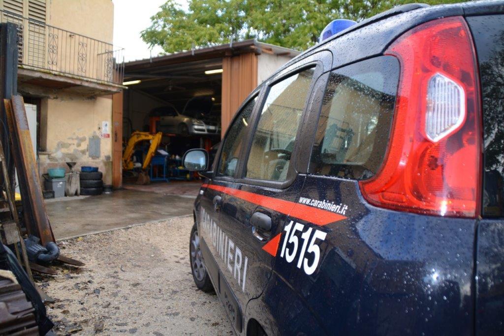 ESTORSIONE E RAPINA, 4 ANNI DI CARCERE PER UN CARROZZIERE DI CITTADUCALE