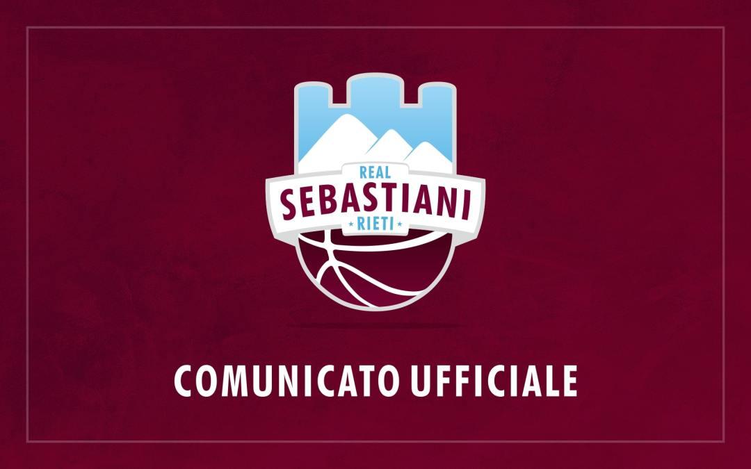 Sebastiani, si parte! Il 16 agosto inizia il raduno a #CasaReal