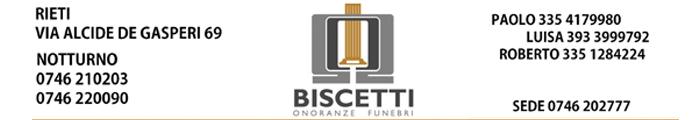 Onoranze Funebri Biscetti