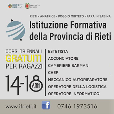 Istituzione Formativa Rieti
