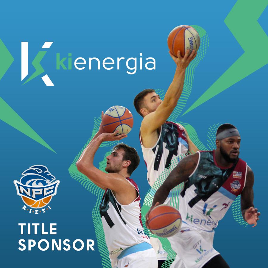 NPC Rieti, Kienergia è il nuovo Title Sponsor