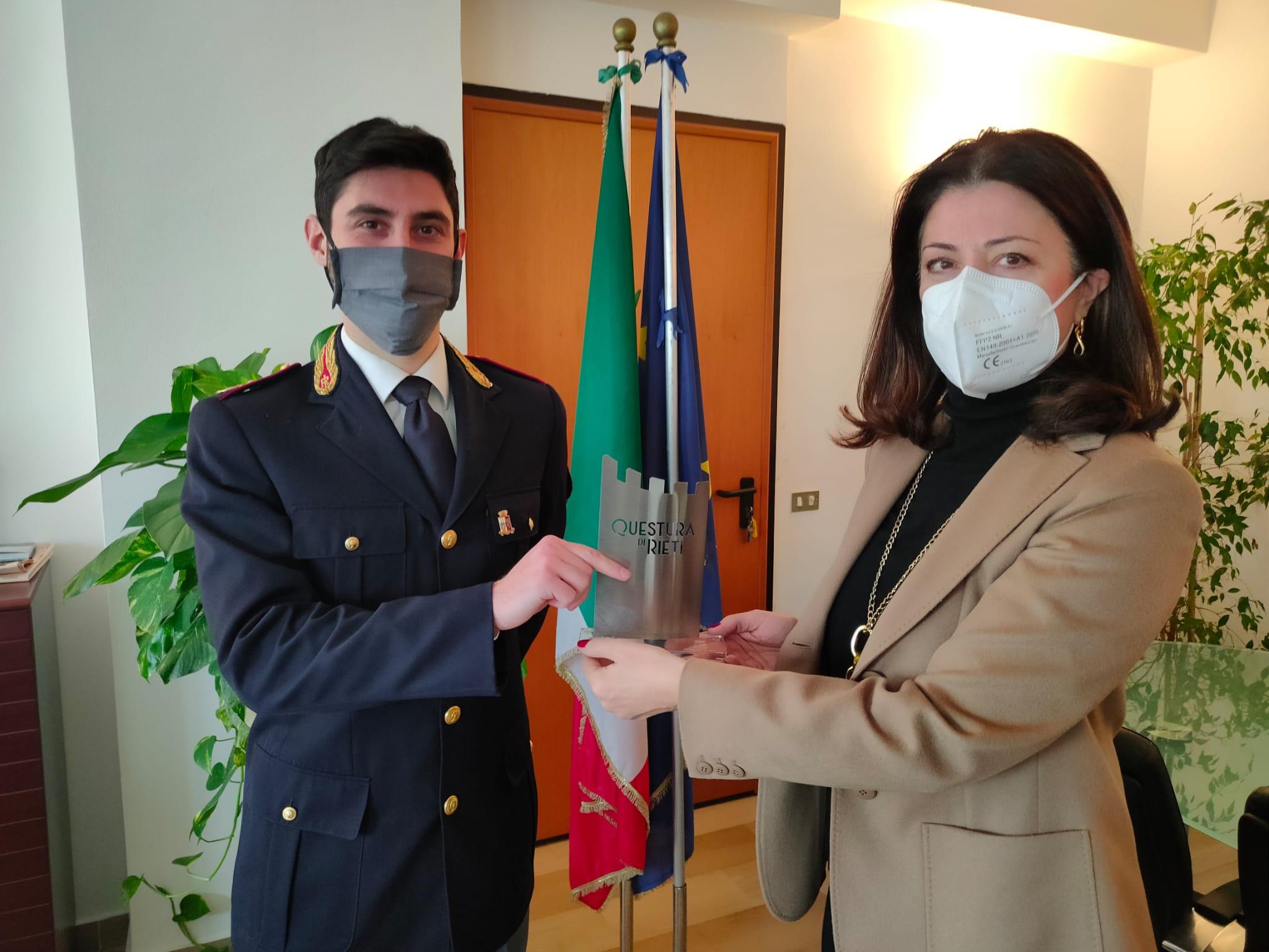POLIZIA STRADALE RIETI, IL COMANDANTE PATERNO' LASCIA PER MASSA CARRARA