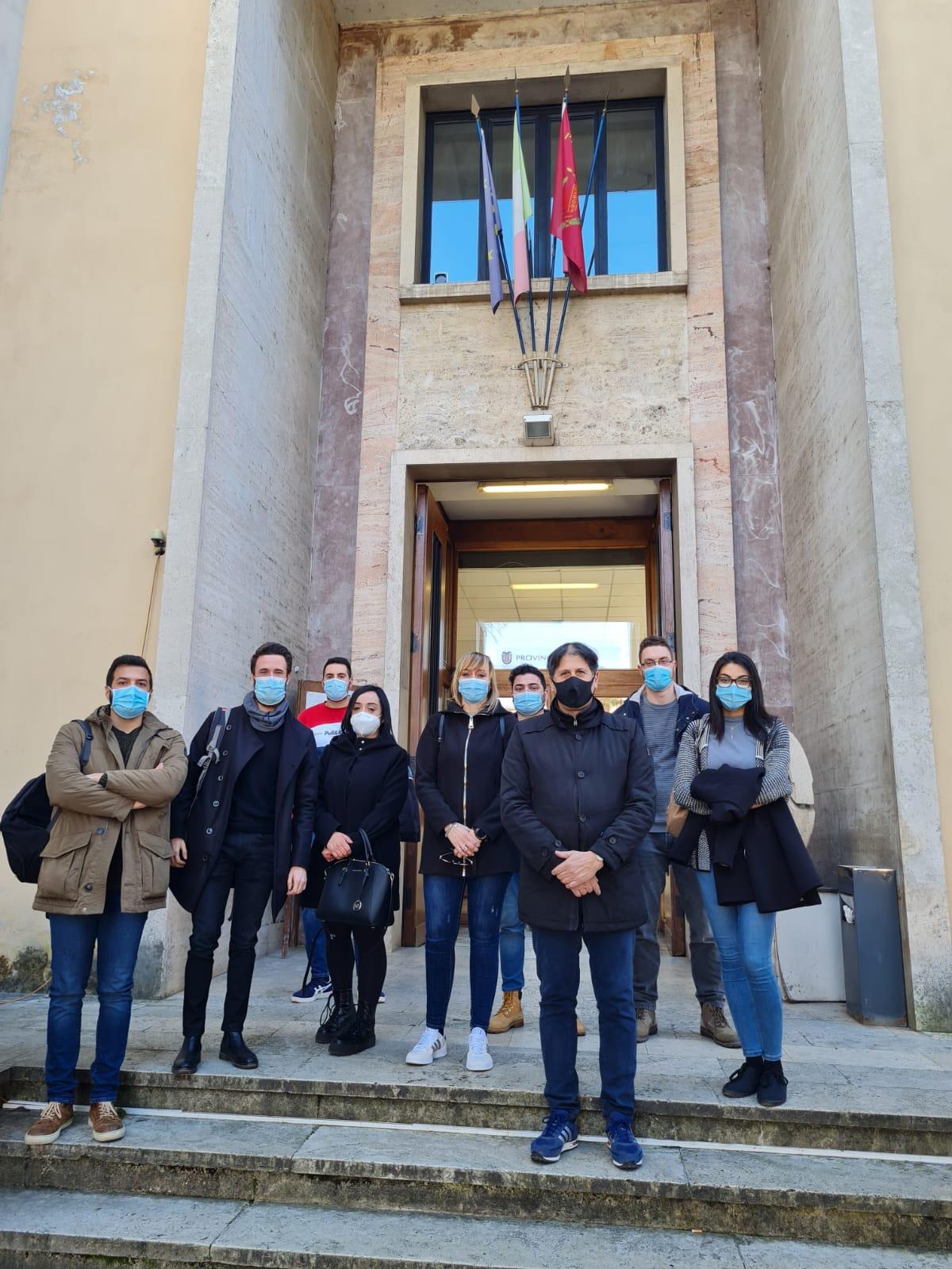 Servizio Civile Universale, Provincia di Rieti: conclusa l'esperienza di dodici giovani