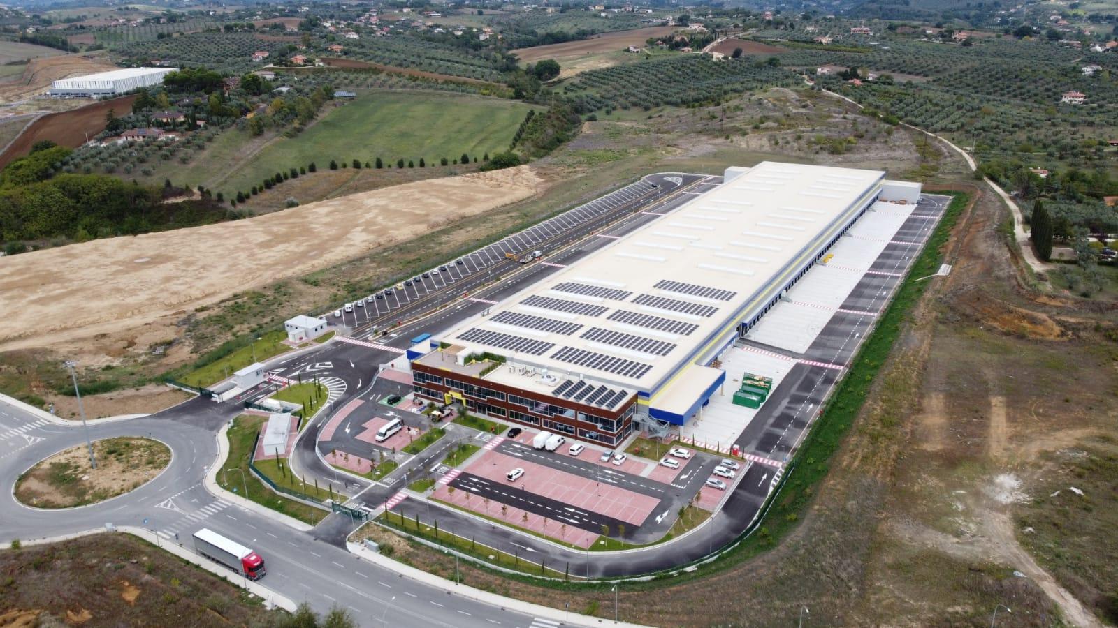 POSTE ITALIANE, IL NUOVO CENTRO LOGISTICO A PASSO CORESE È OPERATIVO