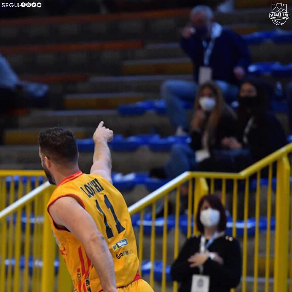La Real Sebastiani gioca questa sera a Molfetta (ore 20) per tornare a vincere