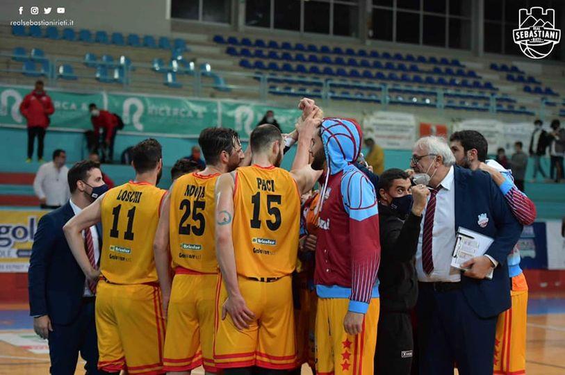 """Real Sebastiani, Righetti esulta: """"Giocato un buon basket, presenti nei momenti decisivi"""""""