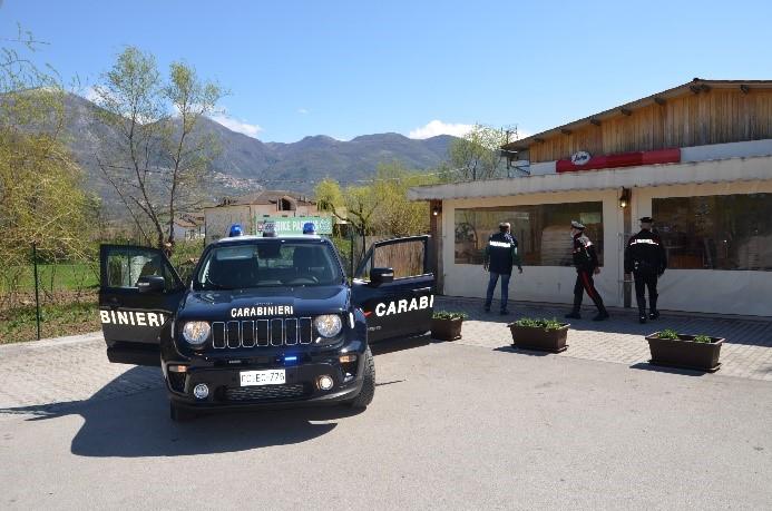 Carabinieri di Rieti e Cittaducale: arresti per furti in tabaccherie