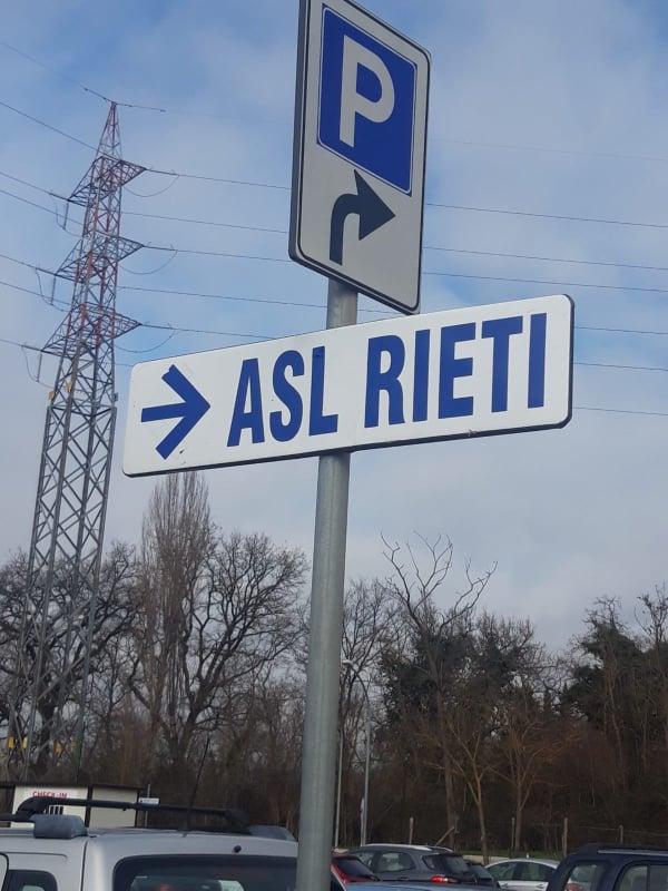ASL RIETI, C'E' UN POSITIVO. RISIEDE A TORRICELLA