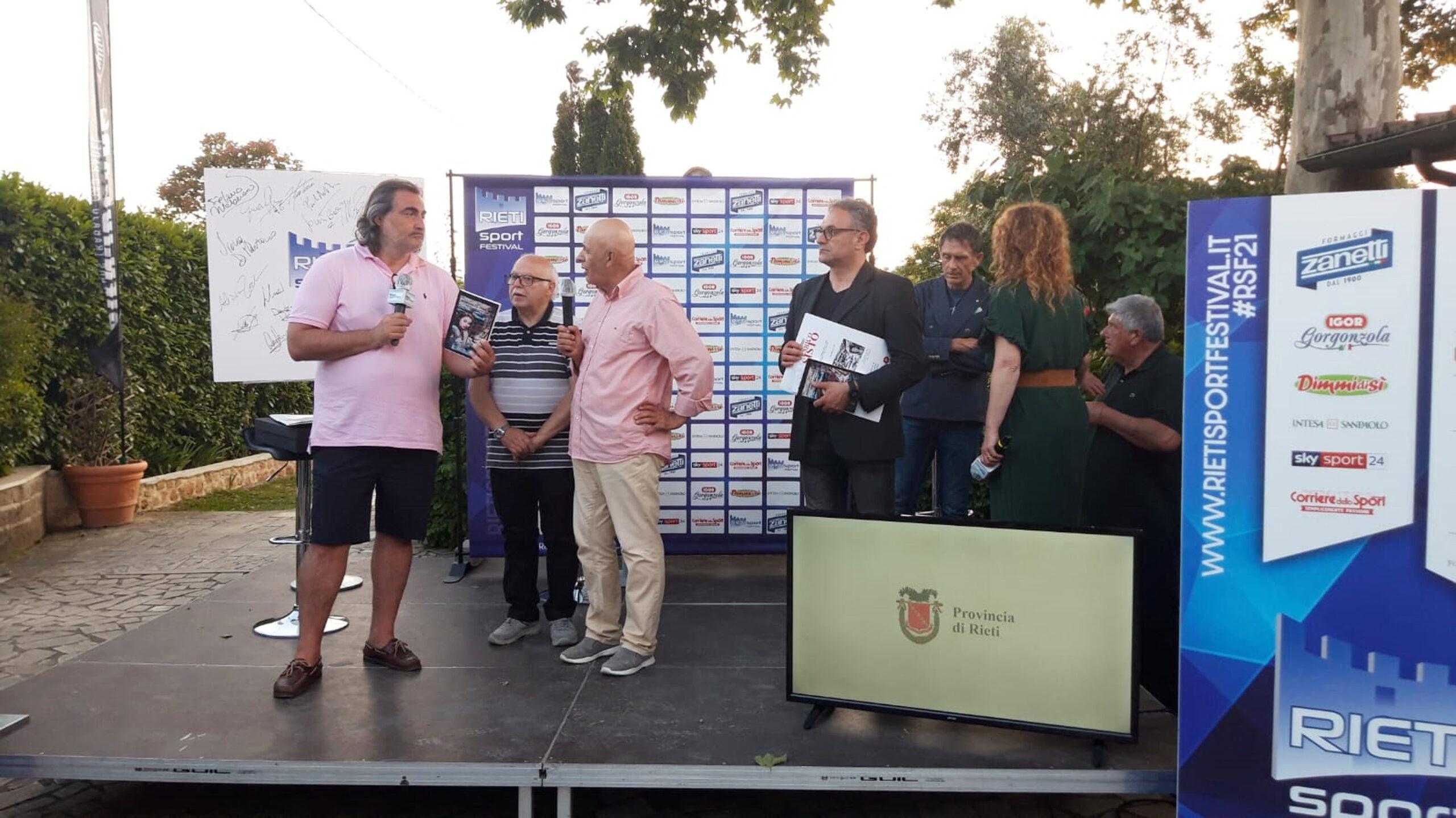La Saletta dei Ricordi al Rieti Sport Festival