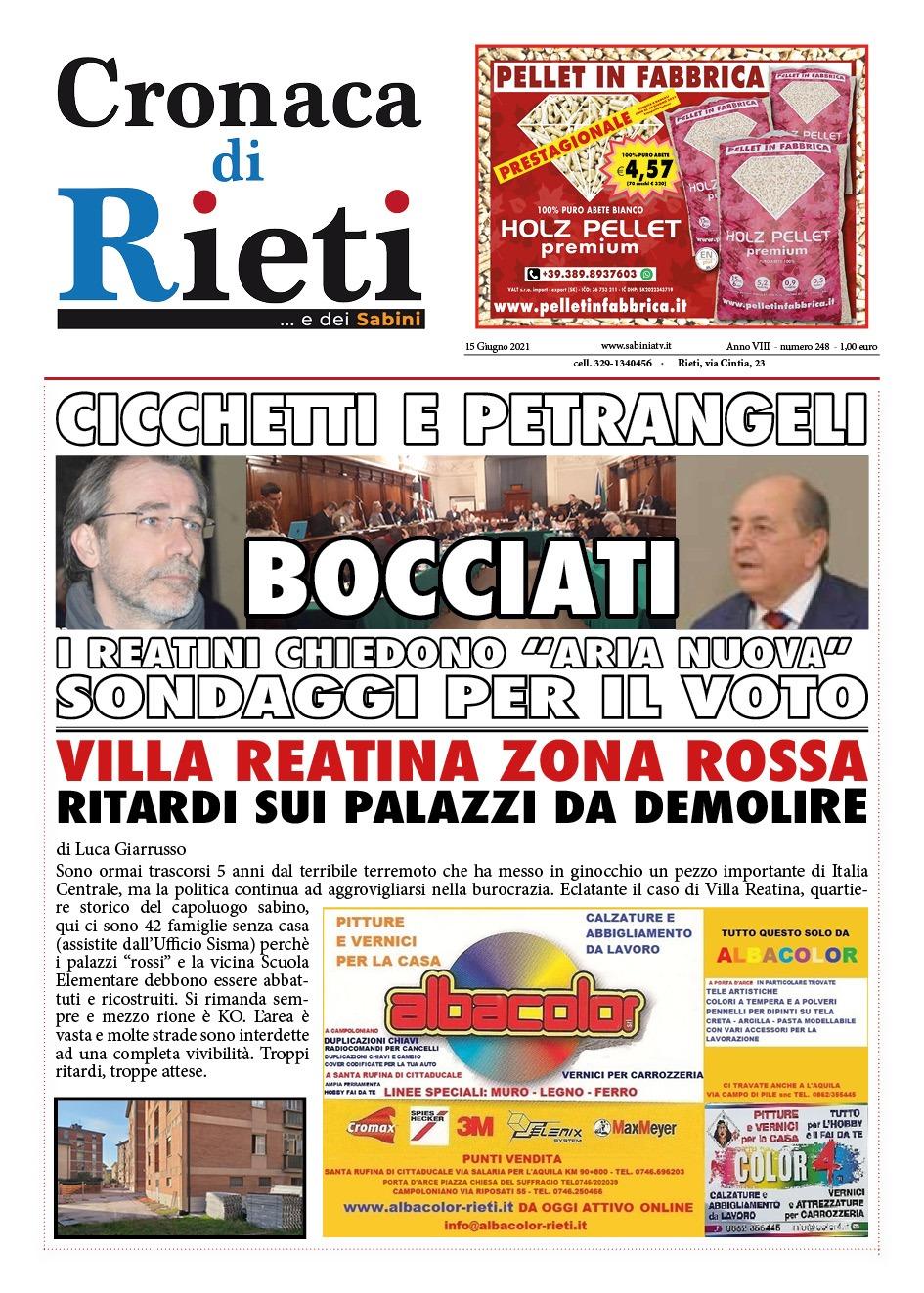 Cronaca di Rieti
