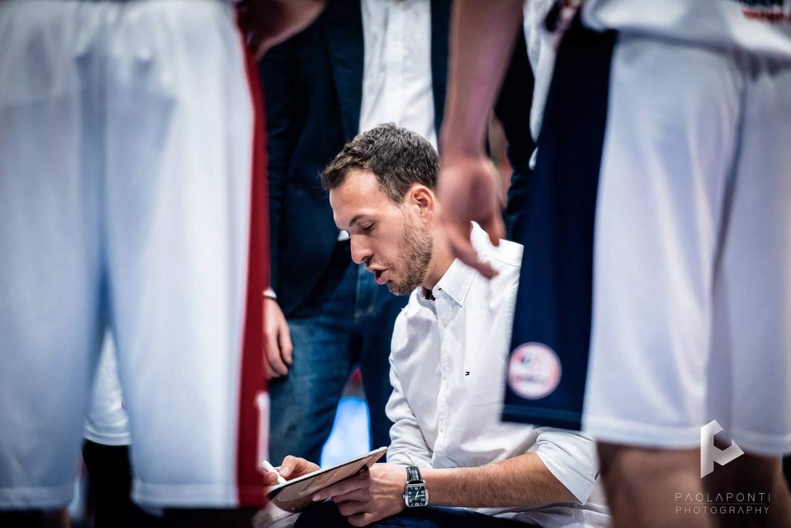 Kienergia Rieti, il nuovo coach è Gabriele Ceccarelli