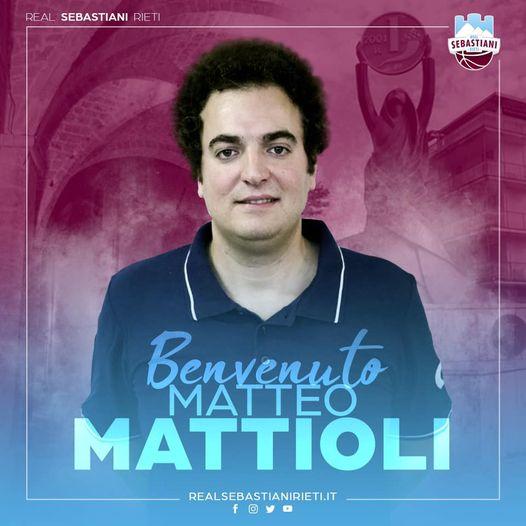 È Matteo Mattioli il braccio destro di coach Finelli
