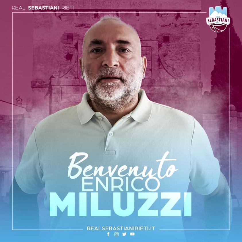 Real: Enrico Miluzzi sarà il secondo assistant coach di Alex Finelli