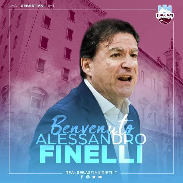 """Real Sebastiani, parla Alex Finelli: """"Umiltà, resilienza, continuità e tenacia dovranno essere la nostra forza!"""""""
