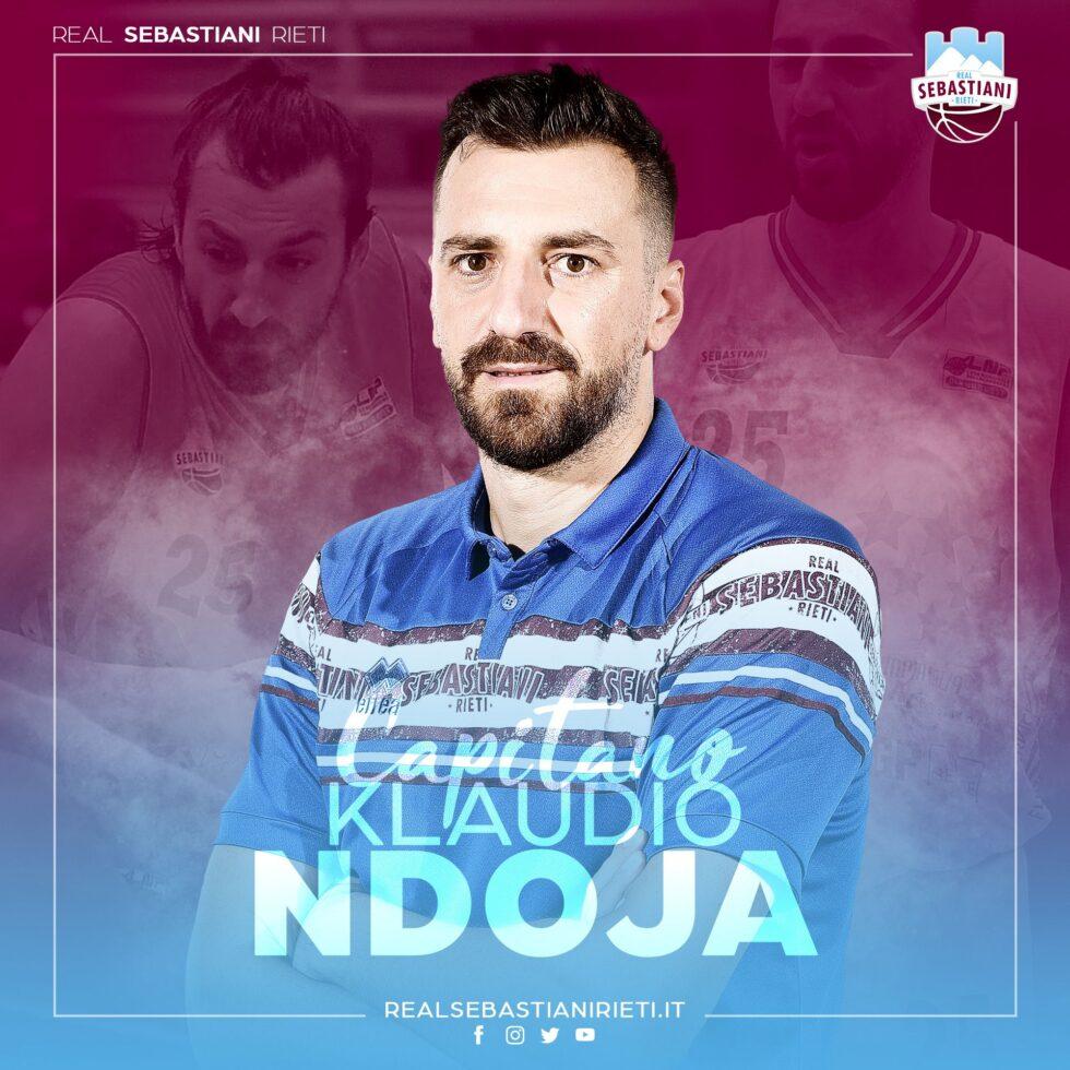 Klaudio Ndoja confermato capitano della Sebastiani