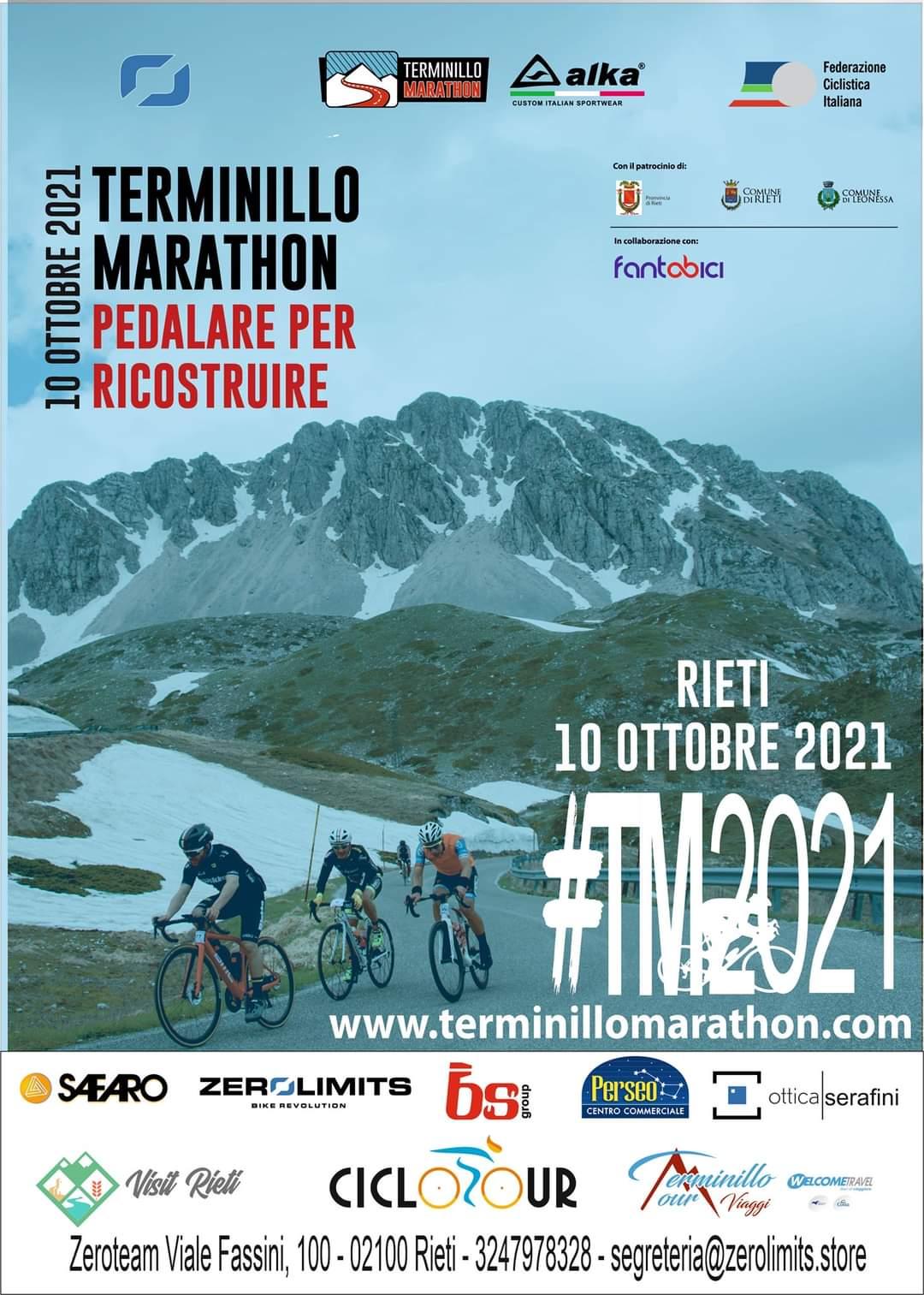 Rieti – Terminillo nel segno delle due ruote: all'insegna della ripartenza la sesta edizione della Terminillo Marathon