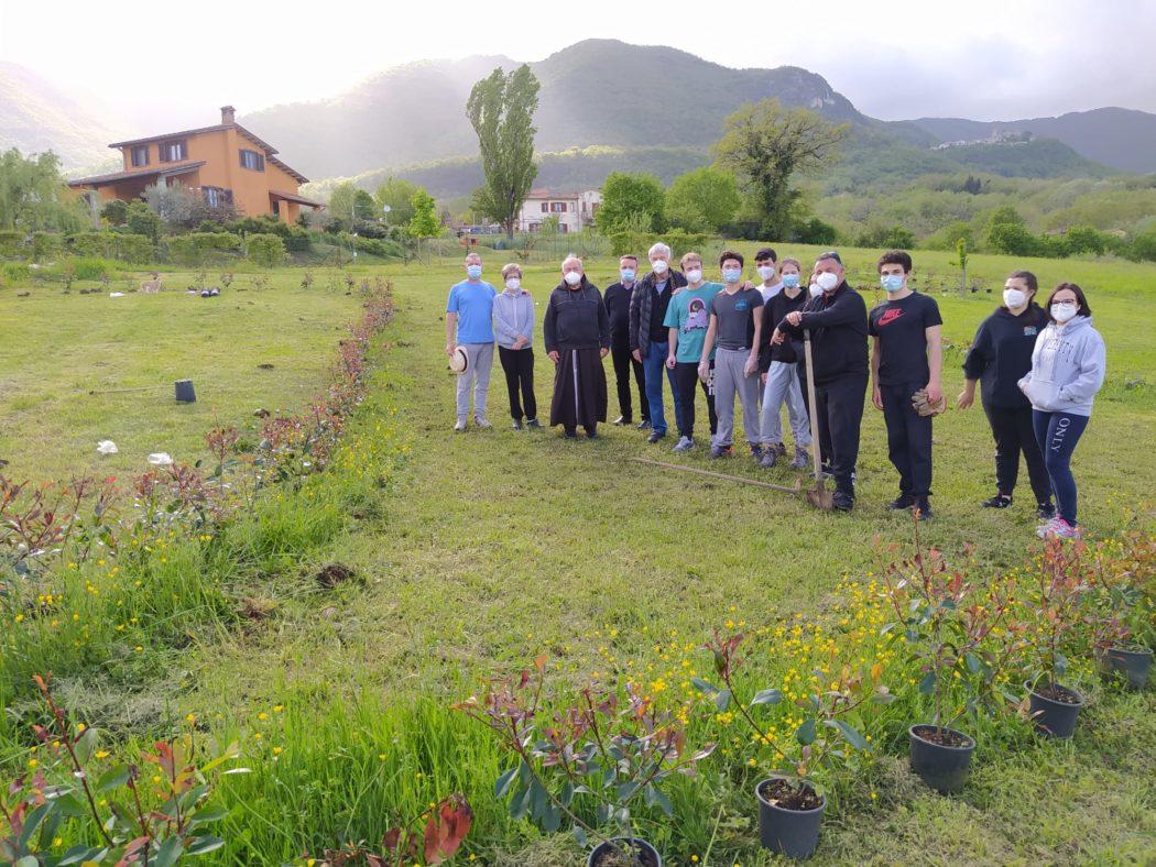 Sabato 23 a Spinacceto l'inaugurazione del TAU verde