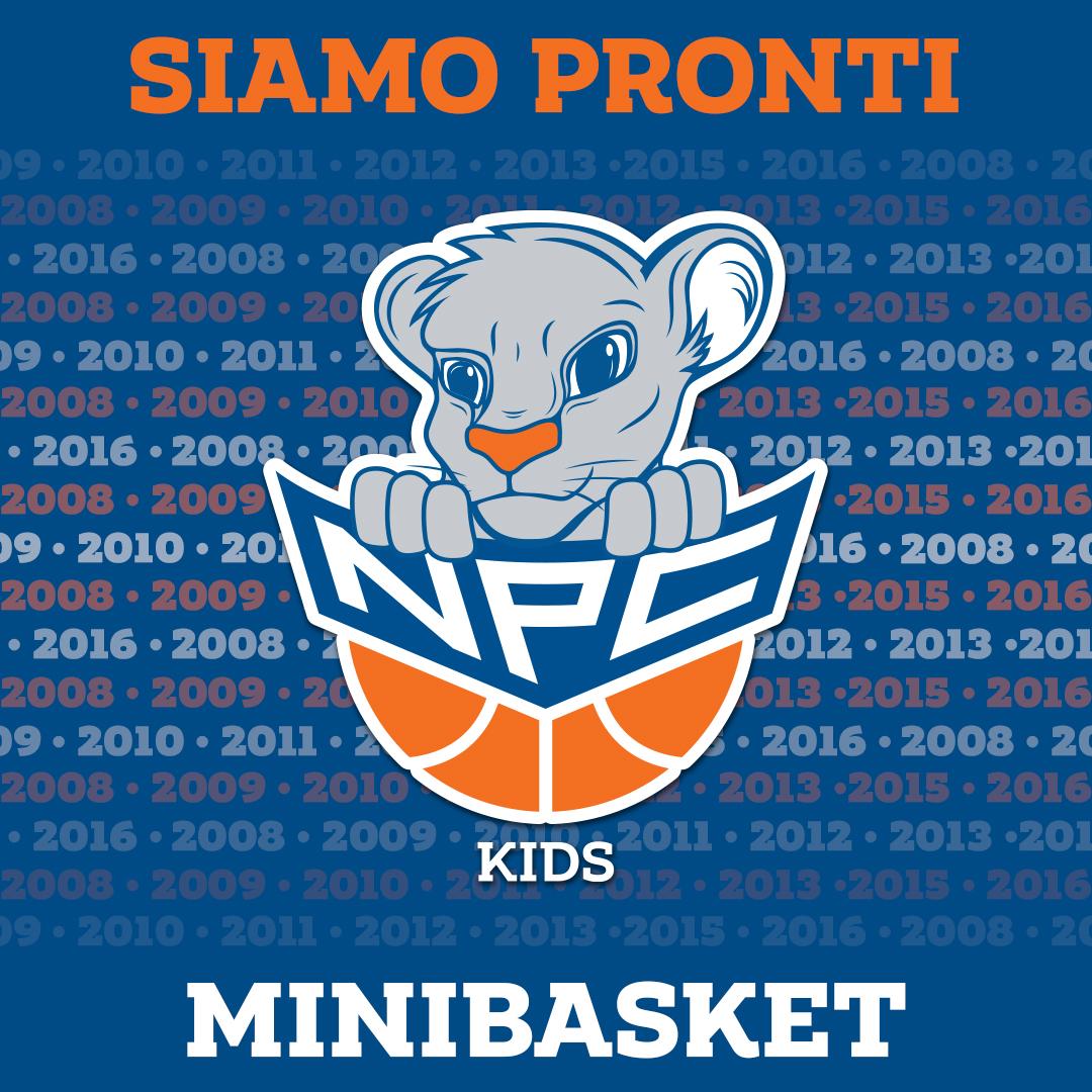 NPC Kids, arriva il nuovo minibasket della NPC Rieti